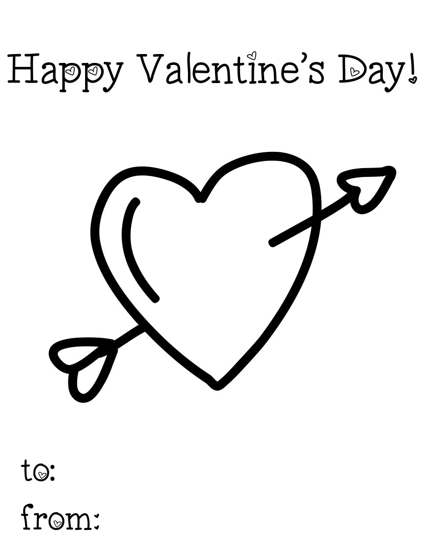 Printable Heart Coloring Pages Be My Valentine Coloring Page For Kids Girls Pages With Valentines