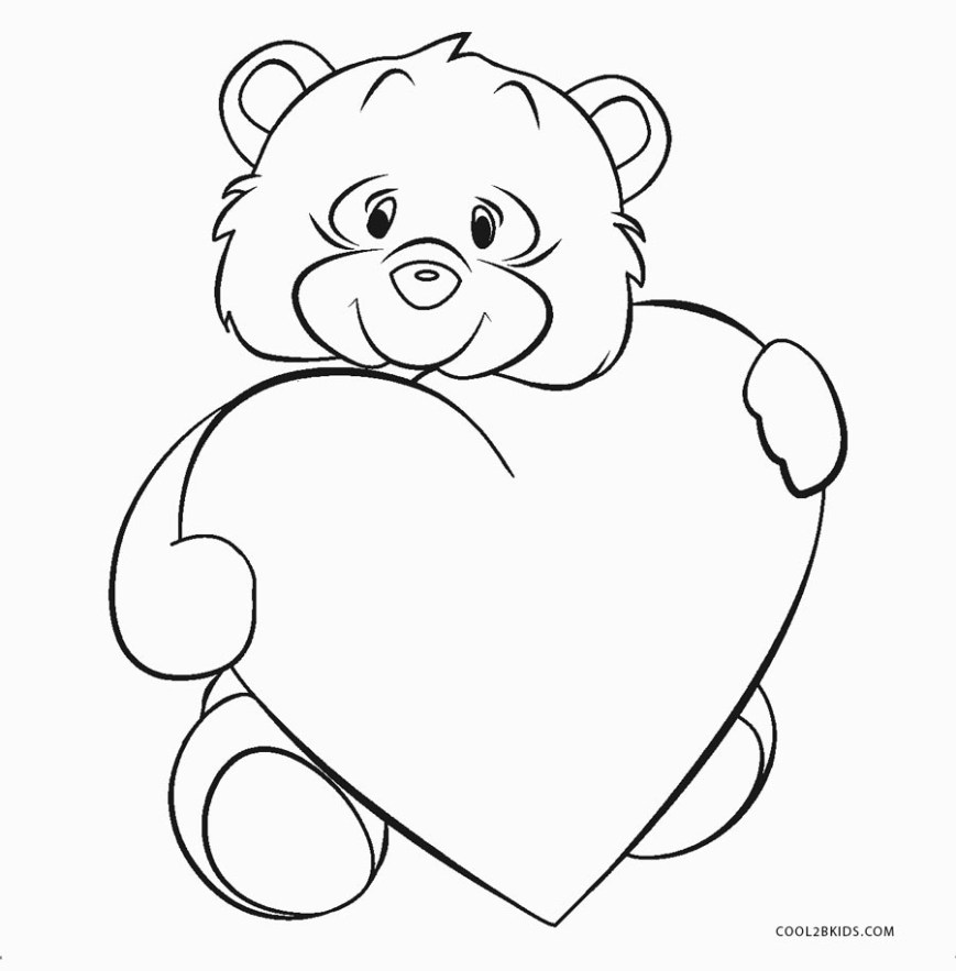 Printable Heart Coloring Pages Free Printable Heart Coloring Pages For Kids Cool2bkids