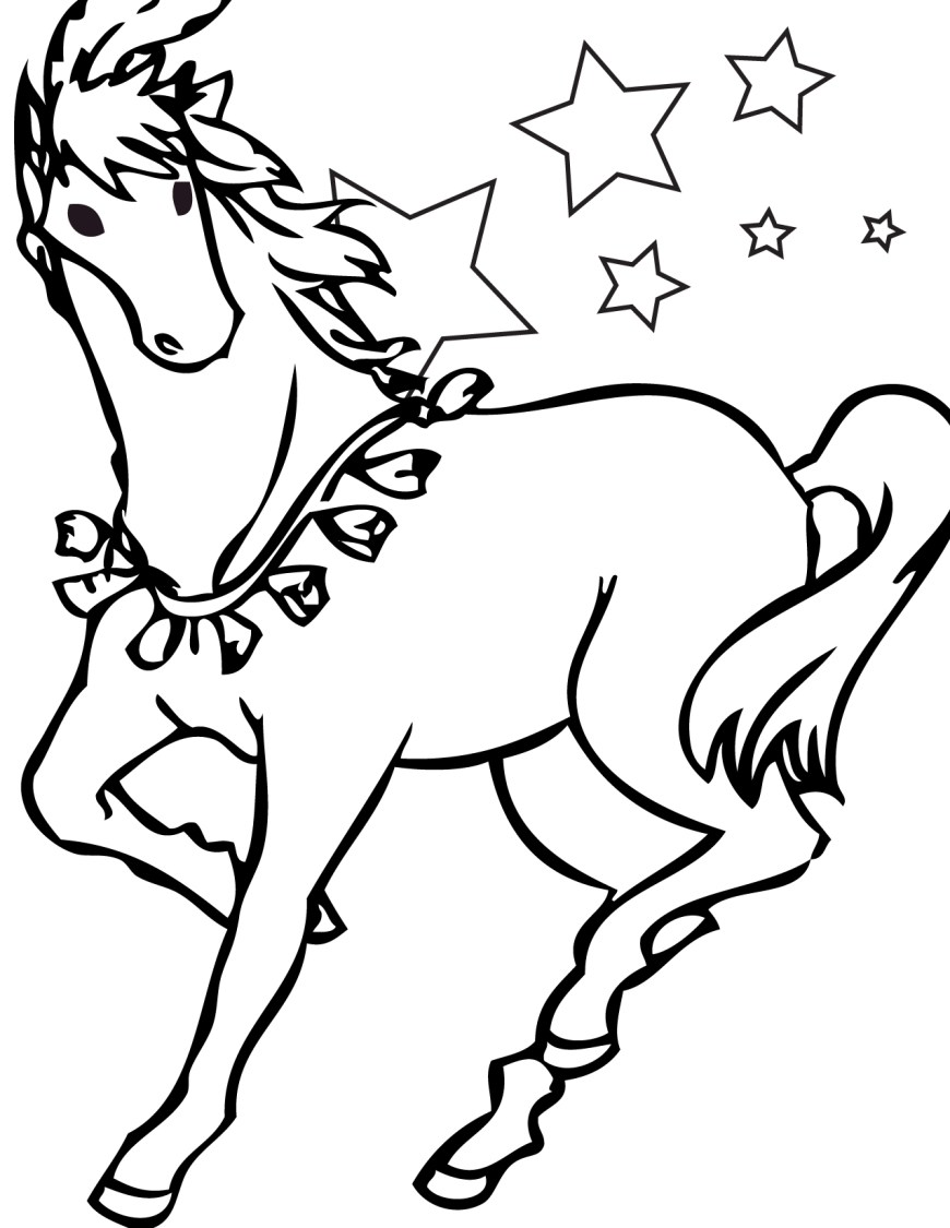 Printable Horse Coloring Pages Free Printable Horse Coloring Pages For Kids