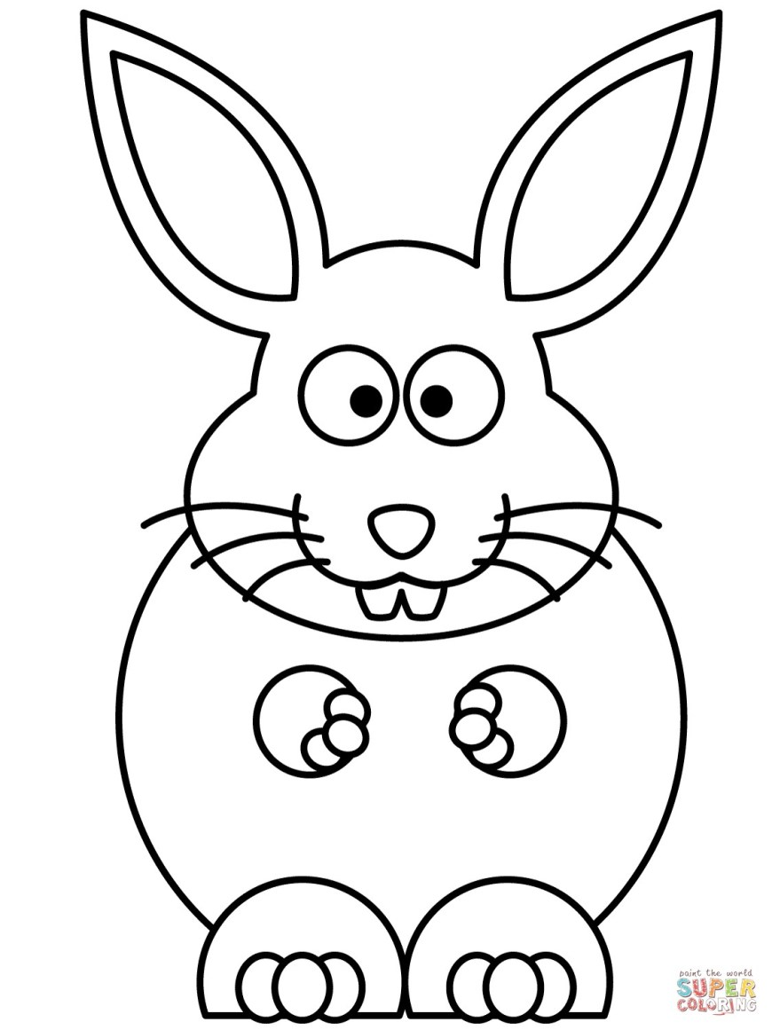 Rabbit Coloring Pages Rabbit Color Page Rabbits Coloring Pages Free 11241500 Attachment