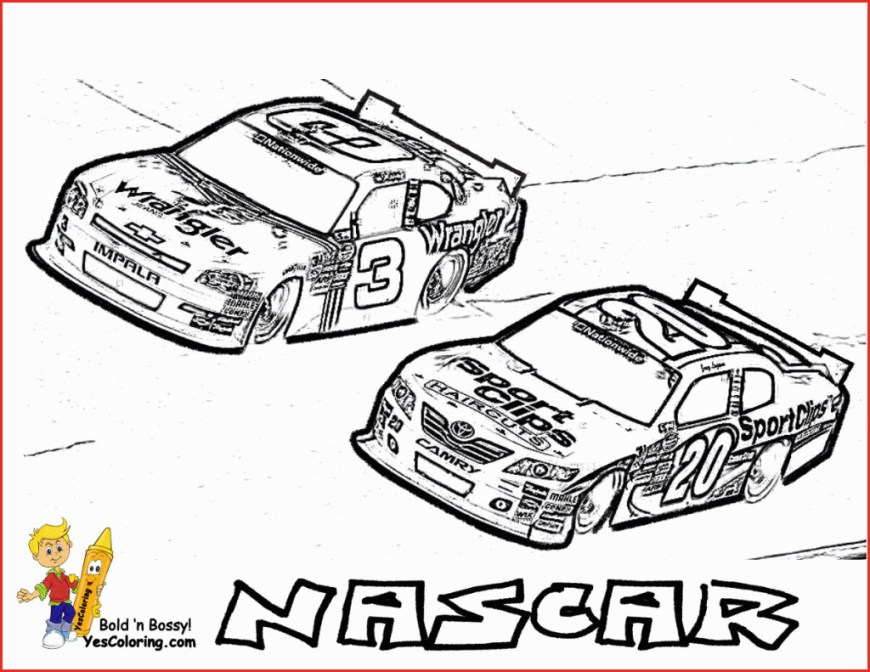 Race Car Coloring Pages Car Coloring Pages Free Dapmalaysia