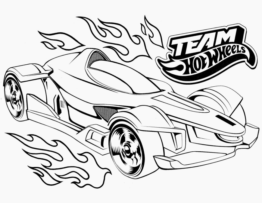 Race Car Coloring Pages Cool Race Car Coloring Pages Fresh Hot Wheels Racing League Hot