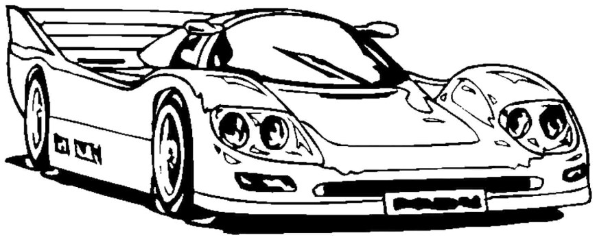 Race Car Coloring Pages Modified Race Car Coloring Pages Diywordpress