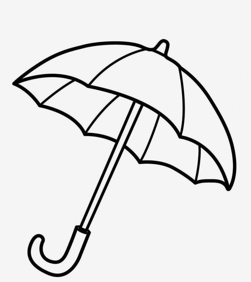 Rainy Day Coloring Pages Rainy Day Coloring Pages Best Easy Mickey Mouse Umbrella Throughout