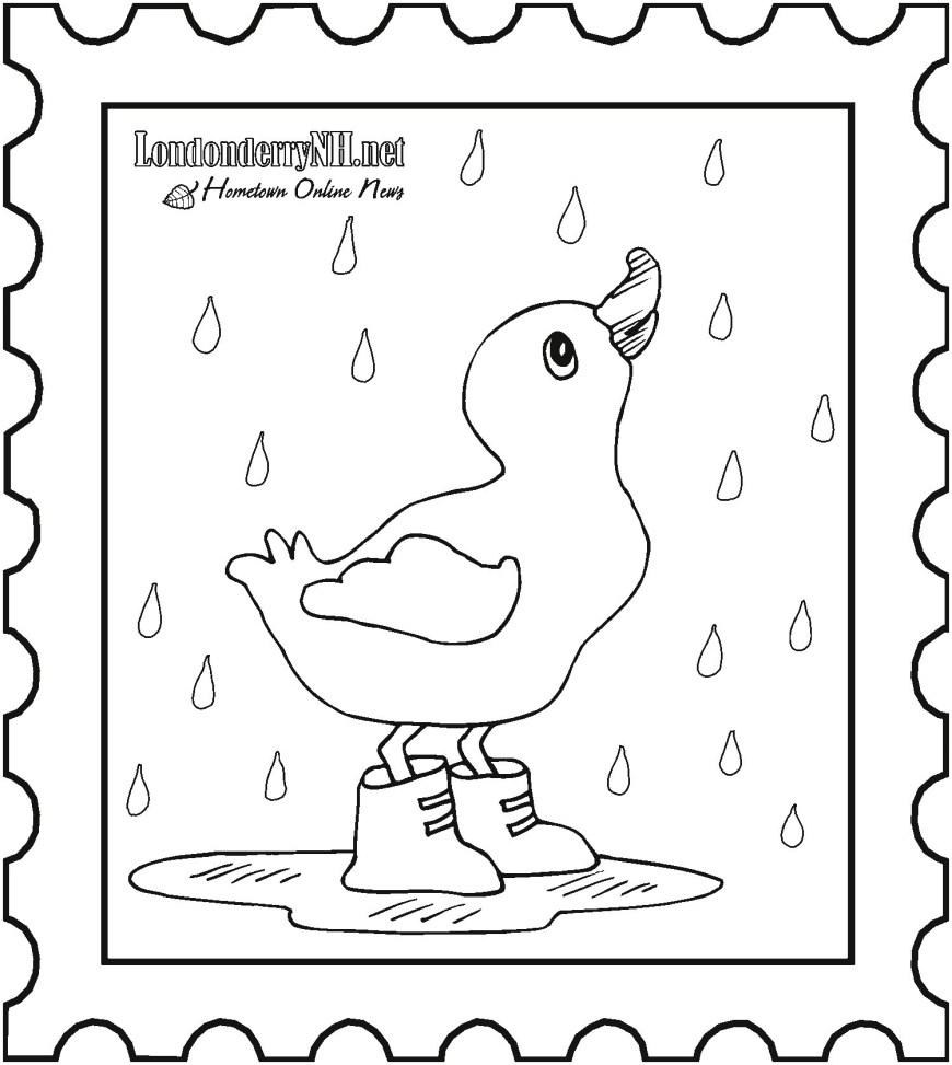 Rainy Day Coloring Pages Rainy Day Coloring Pages Luxury Vases Flower Vase Coloring Page