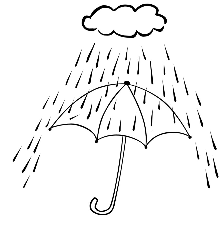 Rainy Day Coloring Pages Spring Rain Coloring Pages Rainforest Kindergarten Rainy Day For