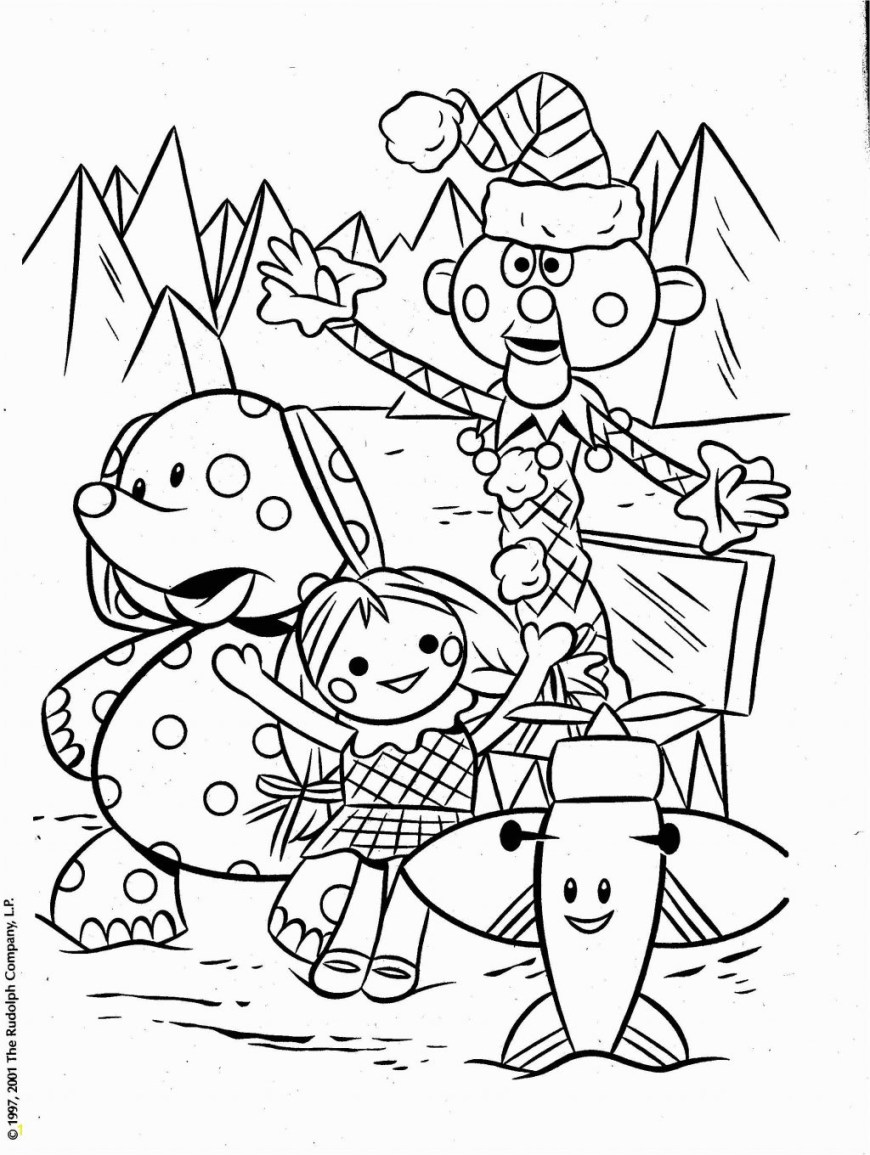Rudolph The Red Nosed Reindeer Coloring Pages Coloring Pages Rudolph The Red Nosed Reindeer Coloring Pictures