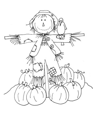 Scarecrow Coloring Page Coloring Pages Scarecrow Coloring Pages Scarecrow Coloring Page