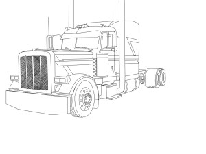 Semi Truck Coloring Pages Semi Truck Coloring Pages Fresh Big Trucks Of 20 Elegantgowns