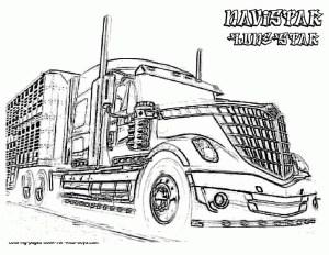 Semi Truck Coloring Pages Stylist Design Semi Truck Coloring Pages Ultimate Pictures Of In