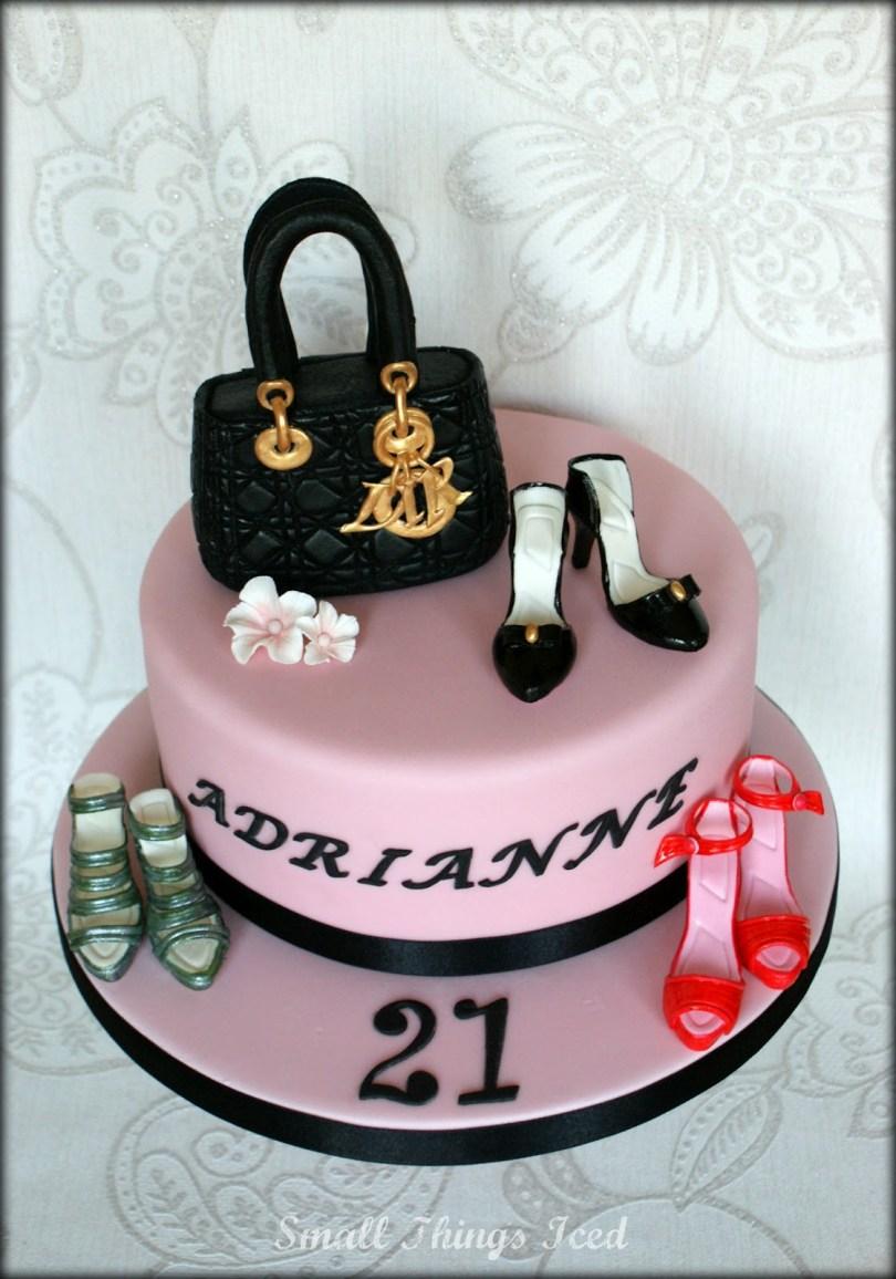 Shoe Birthday Cake 10 Birthday Cakes Of Shoes And Handbags Photo Handbag And Shoes