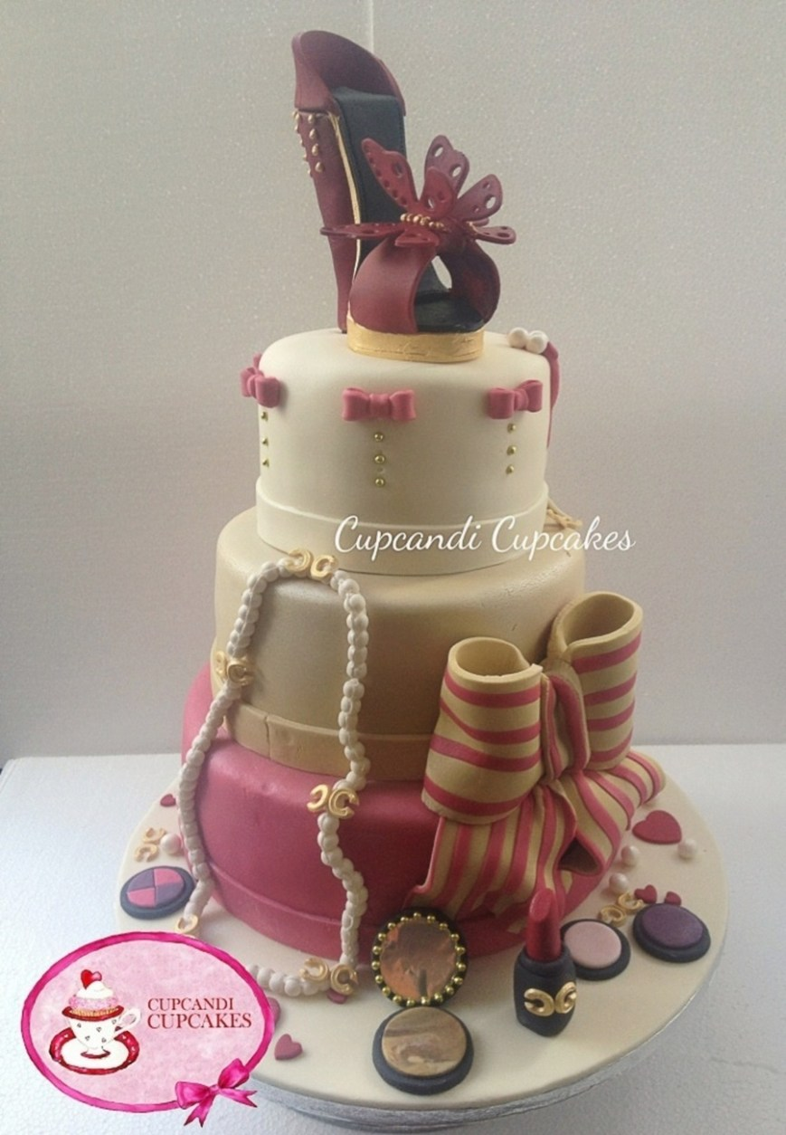 Shoe Birthday Cake Designer Shoe Birthday Cake Cakecentral