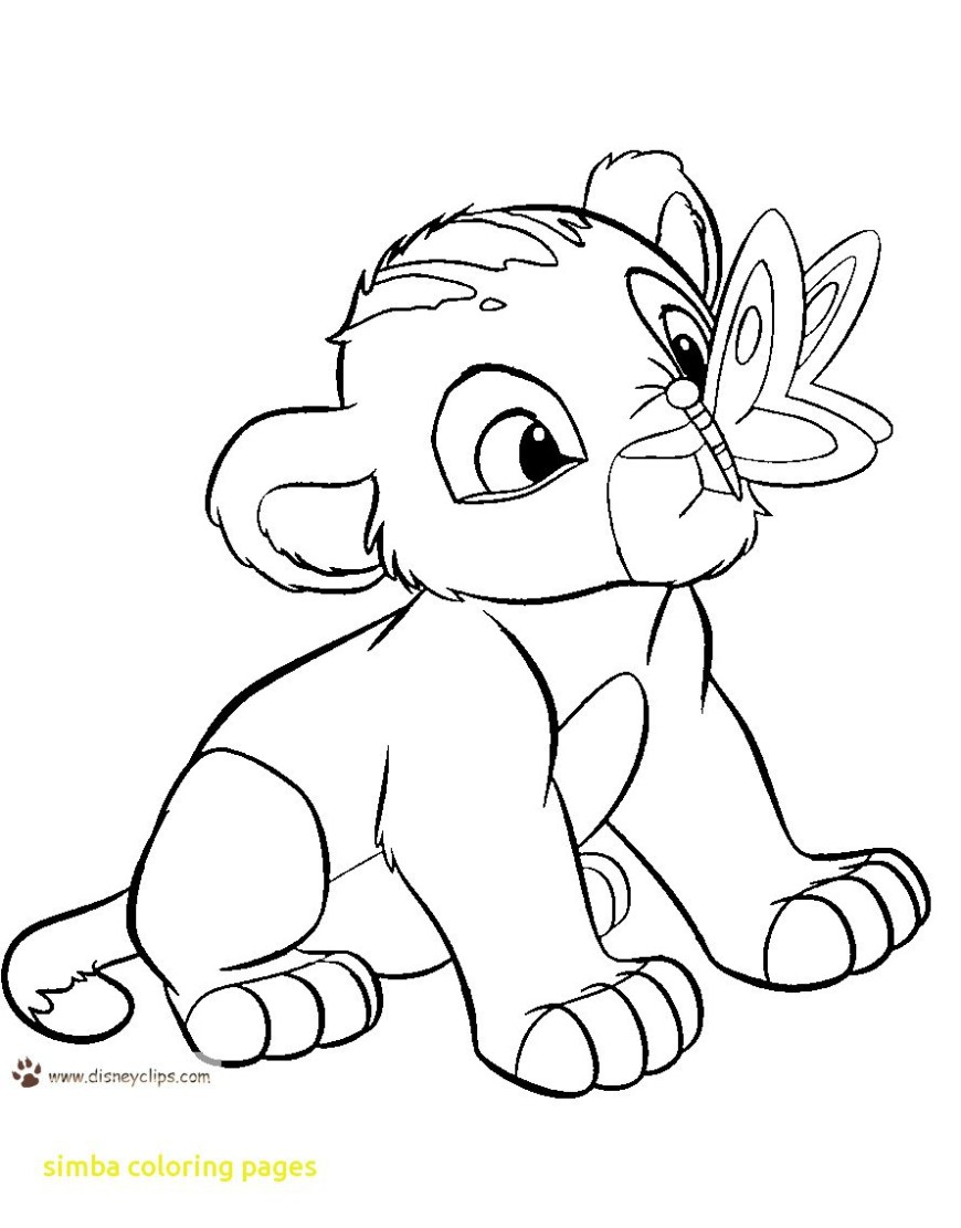 Simba Coloring Pages Lion King Simba Coloring Sheets 2019 Open Coloring Pages