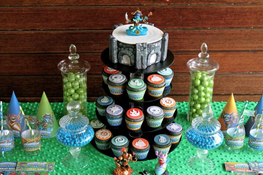Skylander Birthday Cake 11 Skylanders Swapforce Birthday Cakes Photo Skylanders Swap Force