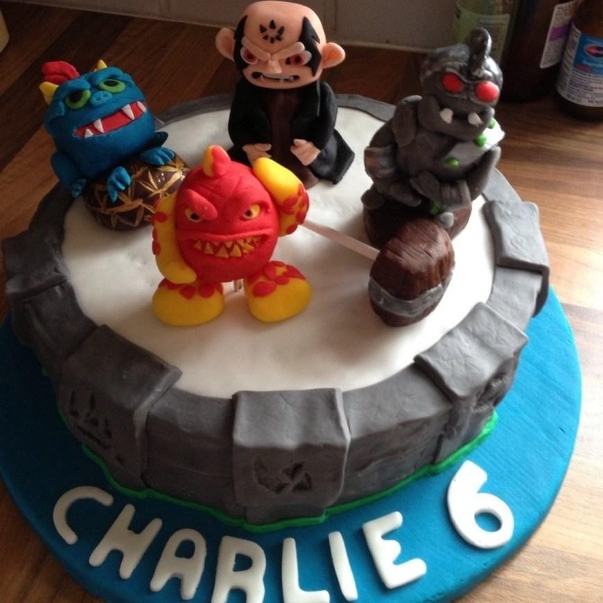 Skylander Birthday Cake Anniething For Food Skylanders Giants Birthday Cake