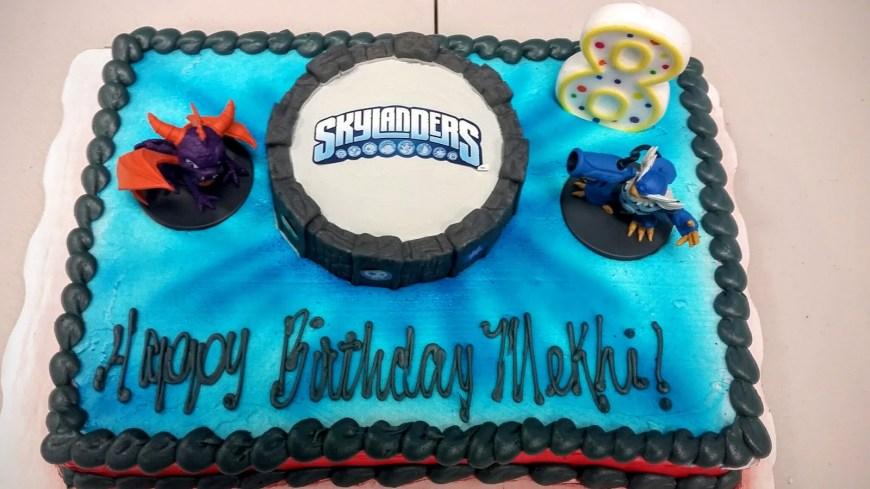 Skylander Birthday Cake Birthday Cake From Walmart