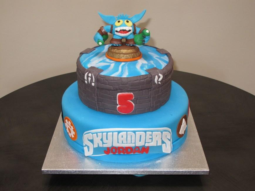 Skylander Birthday Cake Download Skylanders Birthday Cakes Abc Birthday Cakes