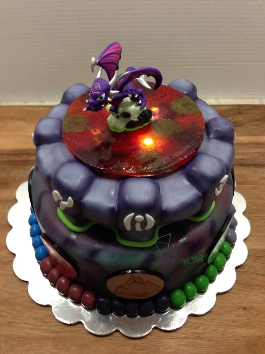 Skylander Birthday Cake Image Result For Skylander Birthday Cake Skylanders Academy