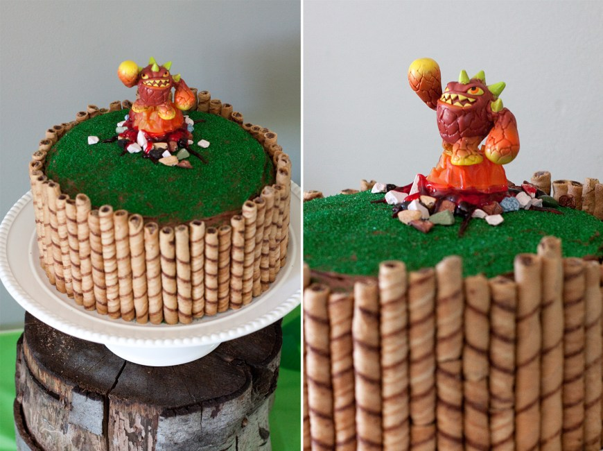 Skylander Birthday Cake Skylander Birthday Cake What Makes Us Click