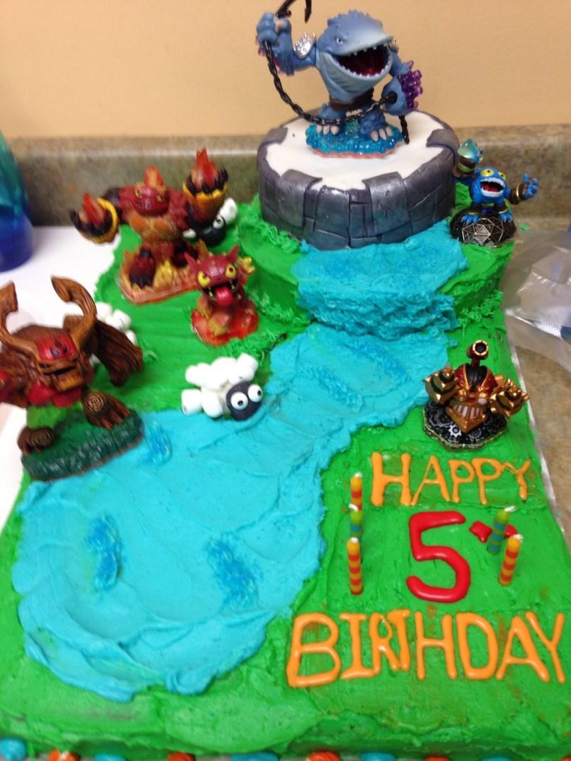 Skylander Birthday Cake Skylander Cake Cakes Pinterest Cake Skylanders And Birthdays