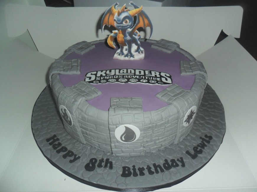 Skylander Birthday Cake Skylanders Birthday Cake Amazingbirthdaycakesml