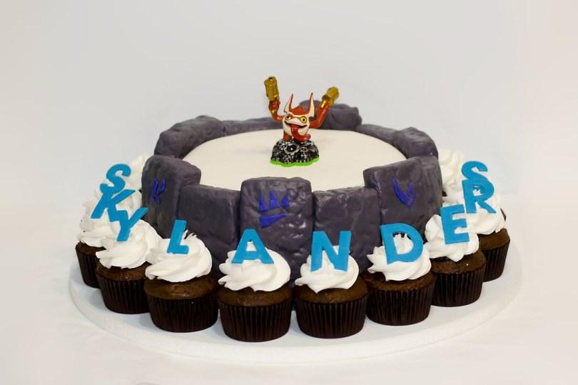 Skylander Birthday Cake Skylanders Birthday Cake Ks Skylander Party Pinterest