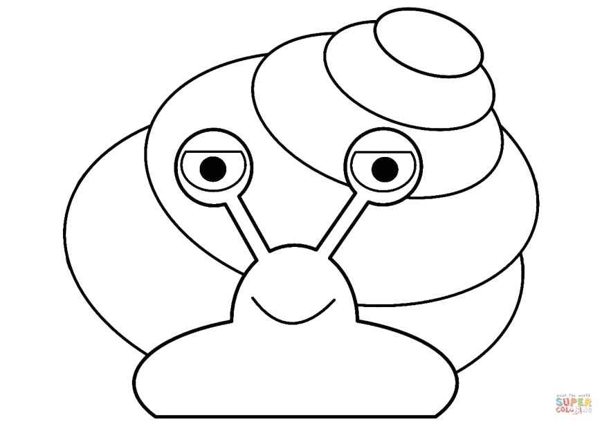 Snail Coloring Page Cartoon Snail Coloring Page Free Printable Coloring Pages