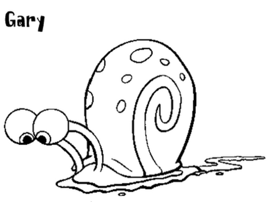 Snail Coloring Page Snail Coloring Pages Free Preschool Awesome Flower For Kindergarten