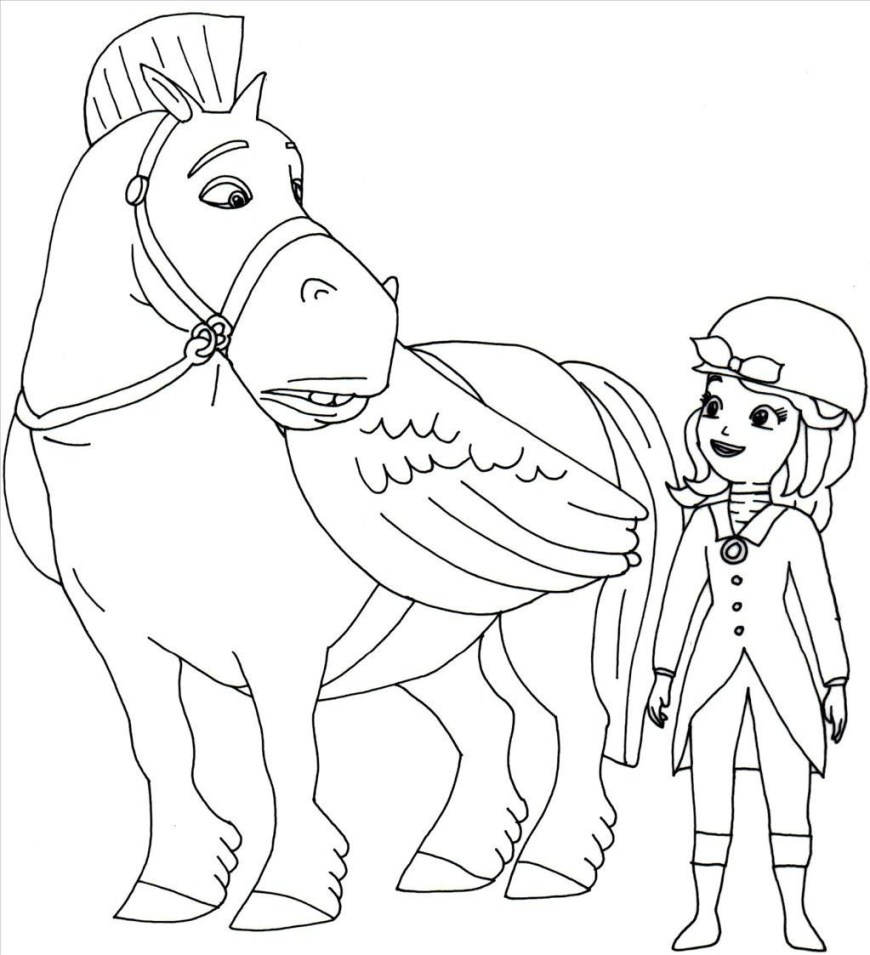 Sofia Coloring Pages Princess Sofia Coloring Pages At Getdrawings Free For Personal