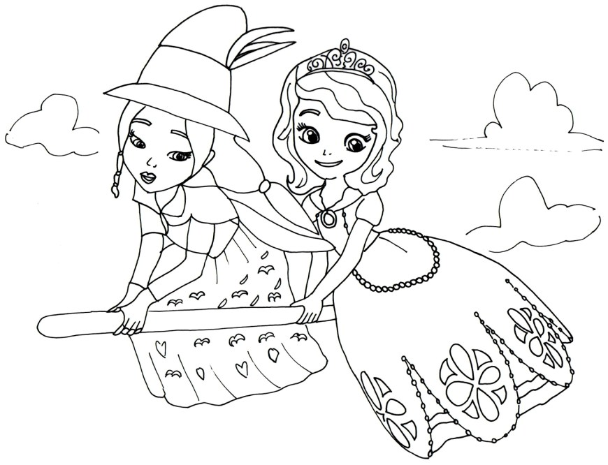 Sofia Coloring Pages Sofia The First Coloring Pages Best Coloring Pages For Kids