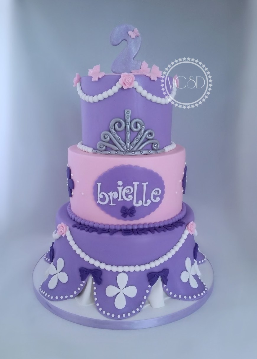 Sofia The First Birthday Cakes Mycakesweetdreams Sofia The First Birthday Cake