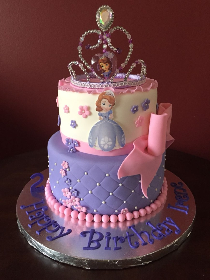 Sofia The First Birthday Cakes Sofia The First Birthday Cake Birthday Cakes In 2019 Princess