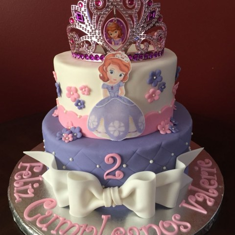 Sofia The First Birthday Cakes Sofia The First Birthday Cake Birthday Cakes Pinterest