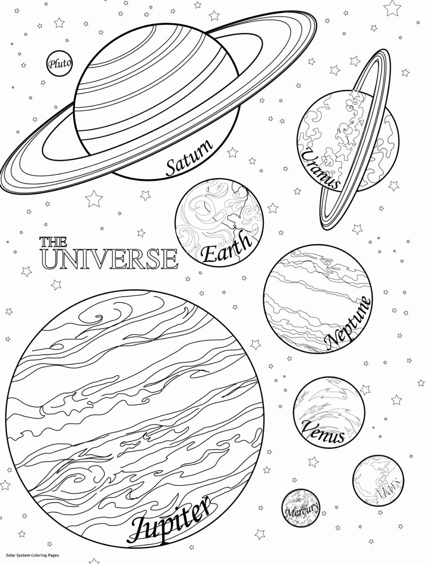Solar System Coloring Pages Coloring Pages Ideas Solar System Planets Drawing Activity Pages