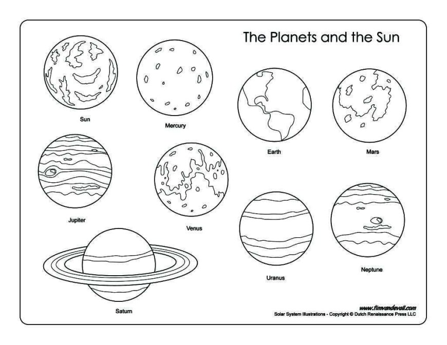 Solar System Coloring Pages Solar System Coloring Pages New Solar System S Coloring Page Free