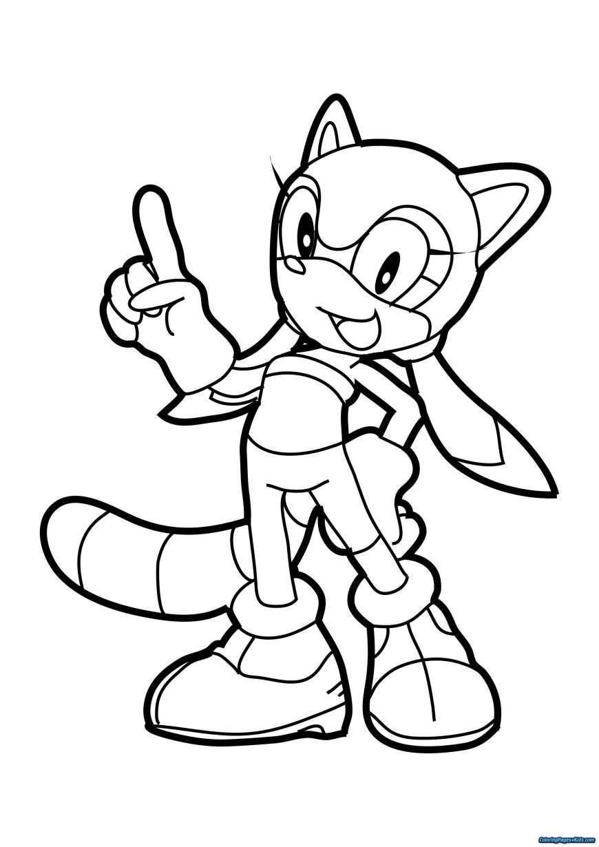 Sonic Coloring Pages Coloring Pages Sonic Free Printable Coloring Pages