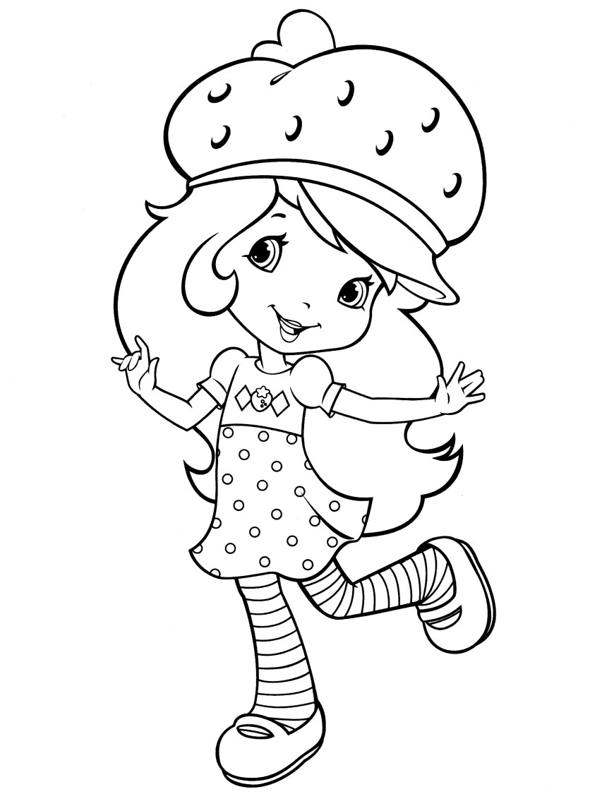 Strawberry Coloring Page Strawberry Coloring Page At Getdrawings Free For Personal Use