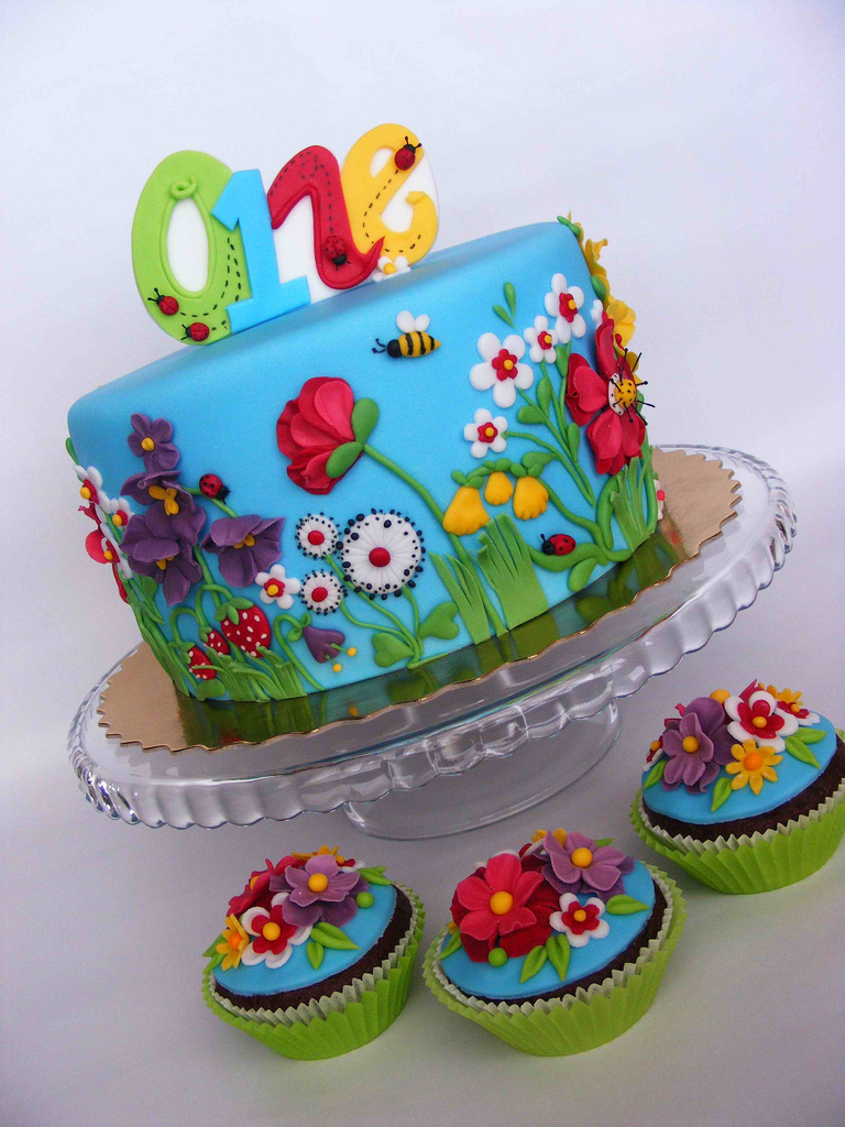 Summer Birthday Cakes 8 Summer Birthday Cakes For Girls Photo Summer Birthday Cake