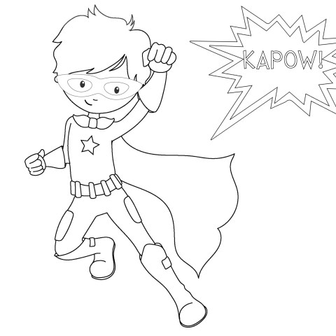 Super Heroes Coloring Pages Free Printable Superhero Coloring Sheets For Kids Crazy Little