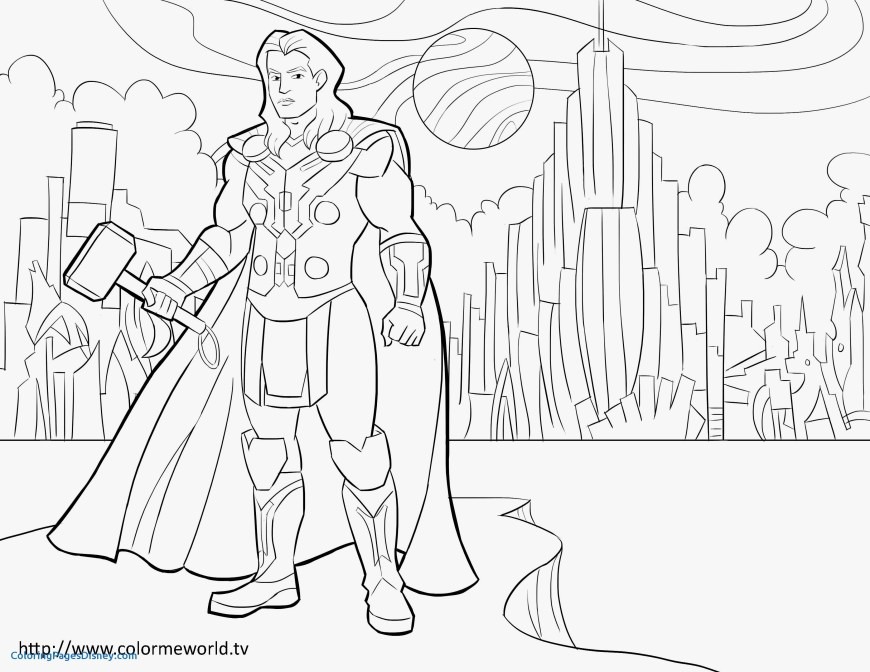 Thor Coloring Pages Thor Coloring Pages Betweenpietyanddesire