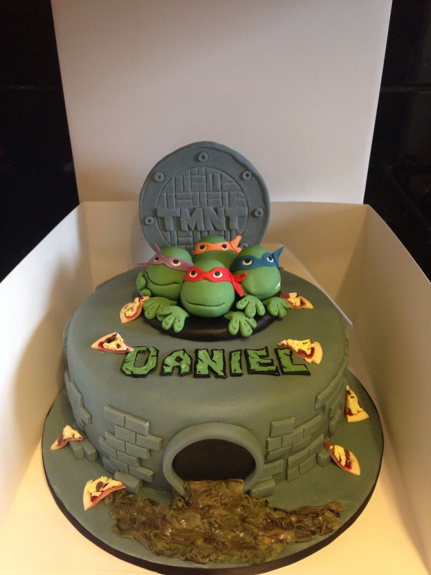 Tmnt Birthday Cake Teenage Mutant Ninja Turtles Tmnt Cake Coul Be Cute With Green