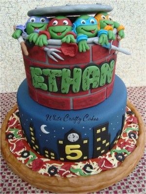 Tmnt Birthday Cake This Is Awesome Gotta Try This For Joshs Bday In December Wow Im