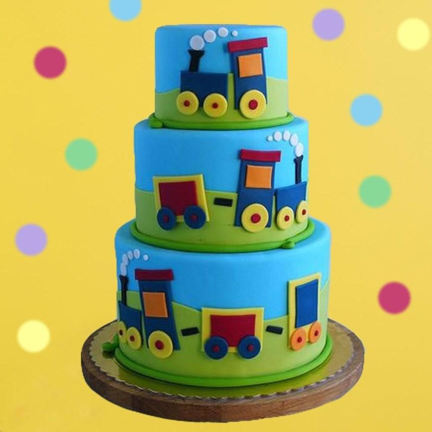 Train Birthday Cake Choo Choo Train Birthday Cake
