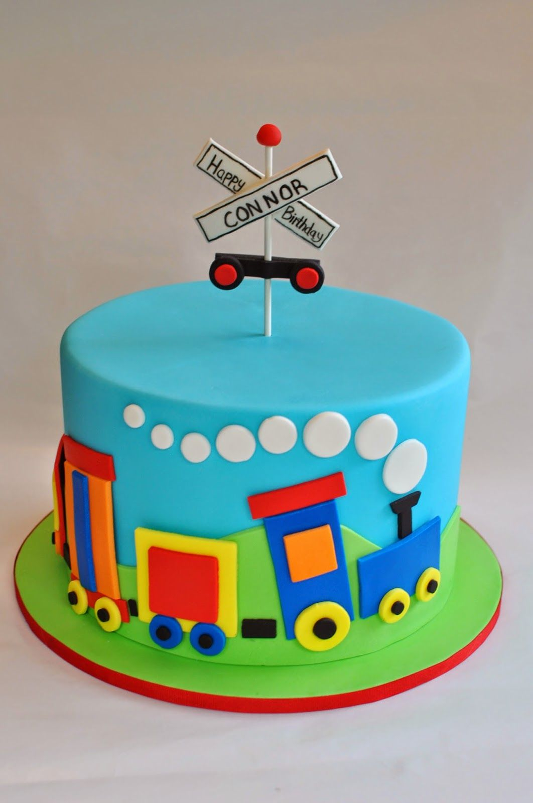 Train Birthday Cake Hopes Sweet Cakes Hopessweetcakes