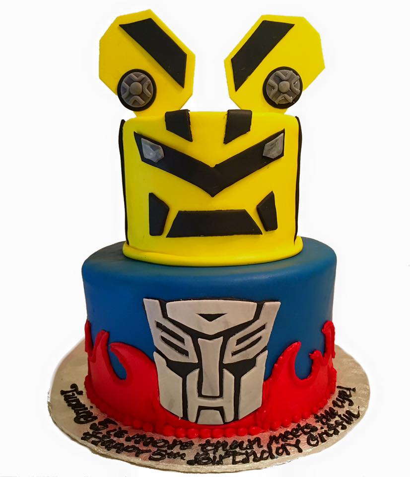 Transformers Birthday Cake Transformers Birthday Cake Darlingcake Ithaca Wedding Cakes