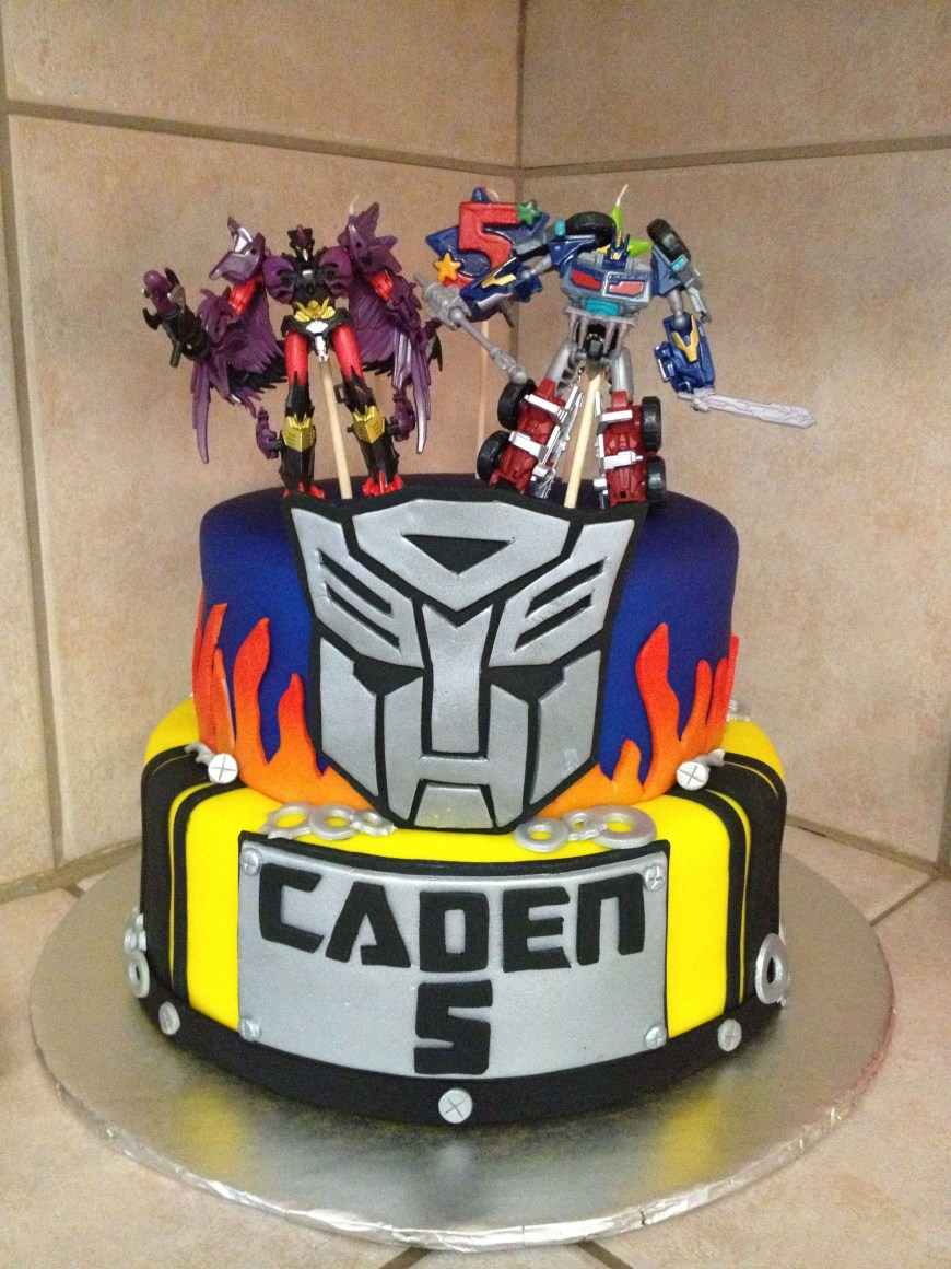 Transformers Birthday Cake Transformers Cake Idea Cakes Pinterest Transformer Birthday