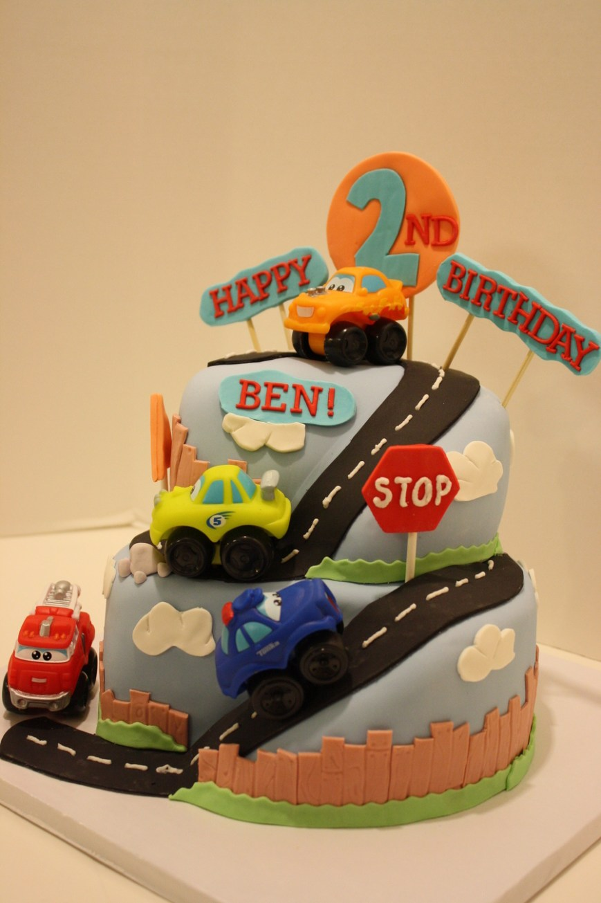 Truck Birthday Cake Cars And Trucks Birthday Cake Cakecentral
