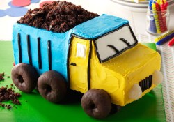 Truck Birthday Cake Dump Truck Cake Recipe Taste Of Home
