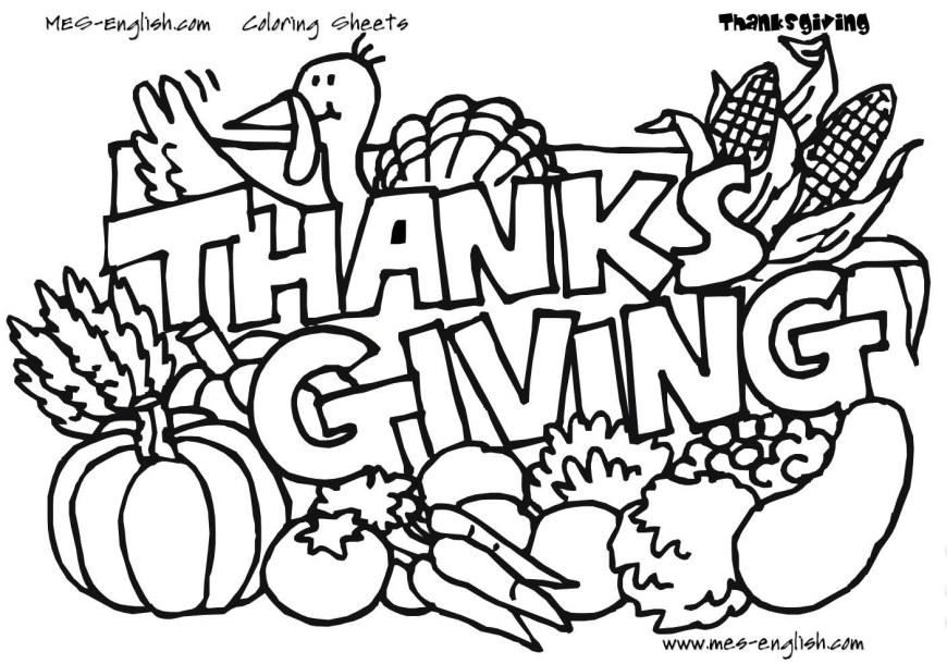 Turkey Coloring Pages Free Thanksgiving Coloring Pages For Kids