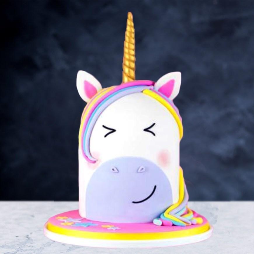 Unicorn Birthday Cake Rainbow Unicorn Birthday Cake